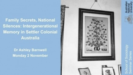 Family Secrets, National Silences: Intergenerational Memory in Settler Colonial Australia