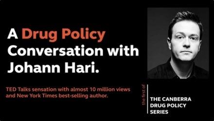A drug policy conversation with Johann Hari